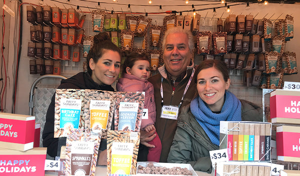 Fatty Sundays Family At Union Square Holiday Market Booth