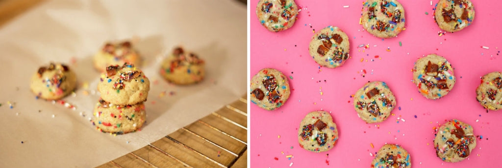 Fatty Sundays Brown Butter Sprinkle Cookies