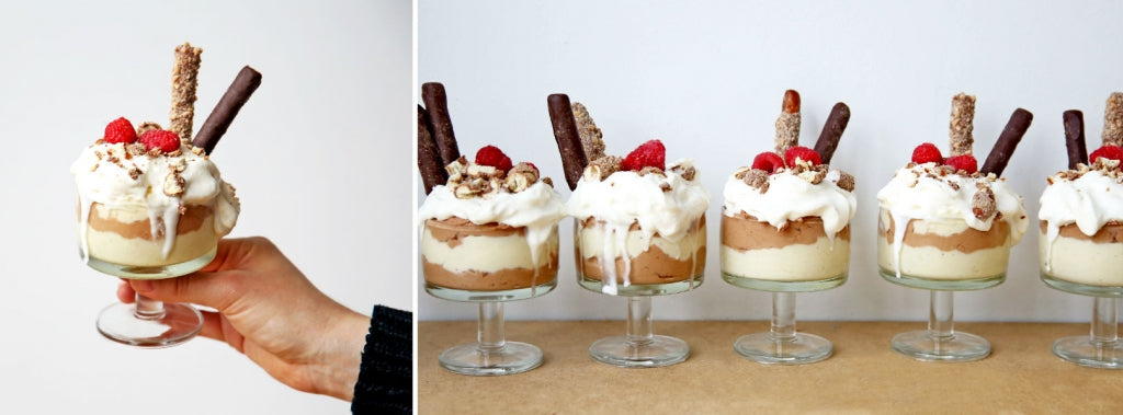 Fatty Sundays Layered Chocolate Mousse Parfait