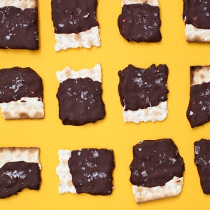Chocolate Covered Matzah You Just Can't Pass Over