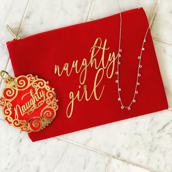 Naughty Girl bag necklace ornament