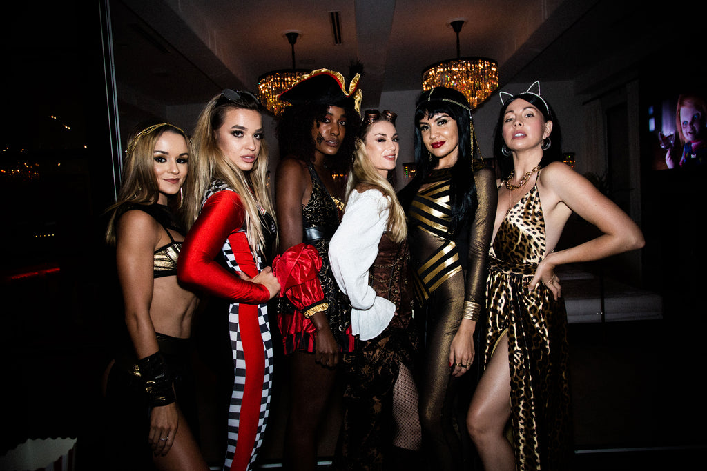 Naughty Girl Shop Halloween Party