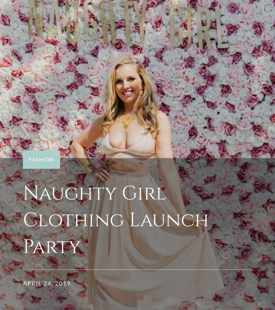 Waves and Runways Naughty Girl Launch Party