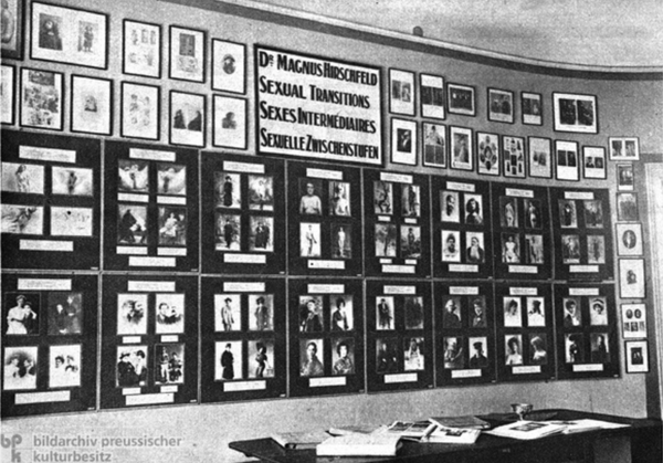 Institute for Sexual Research Berlin 1920s Weimer