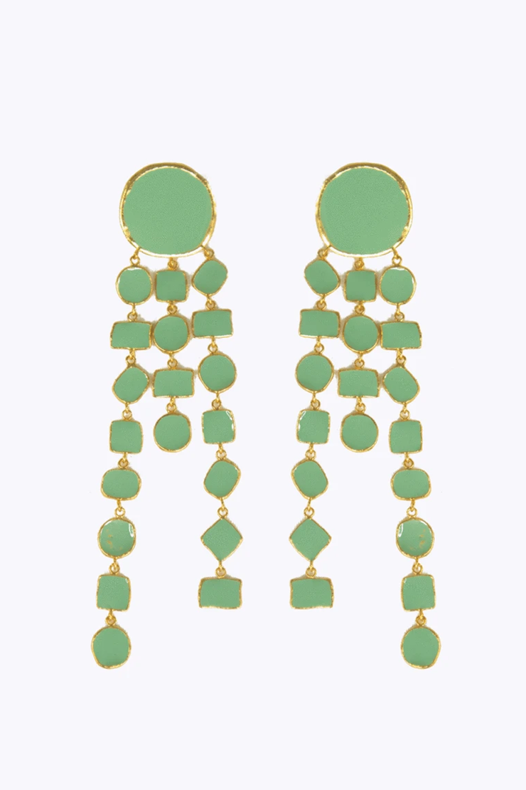 Sea Green Bazaar Earrings