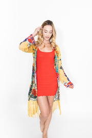 Shahida Parides Yellow Duster Robe