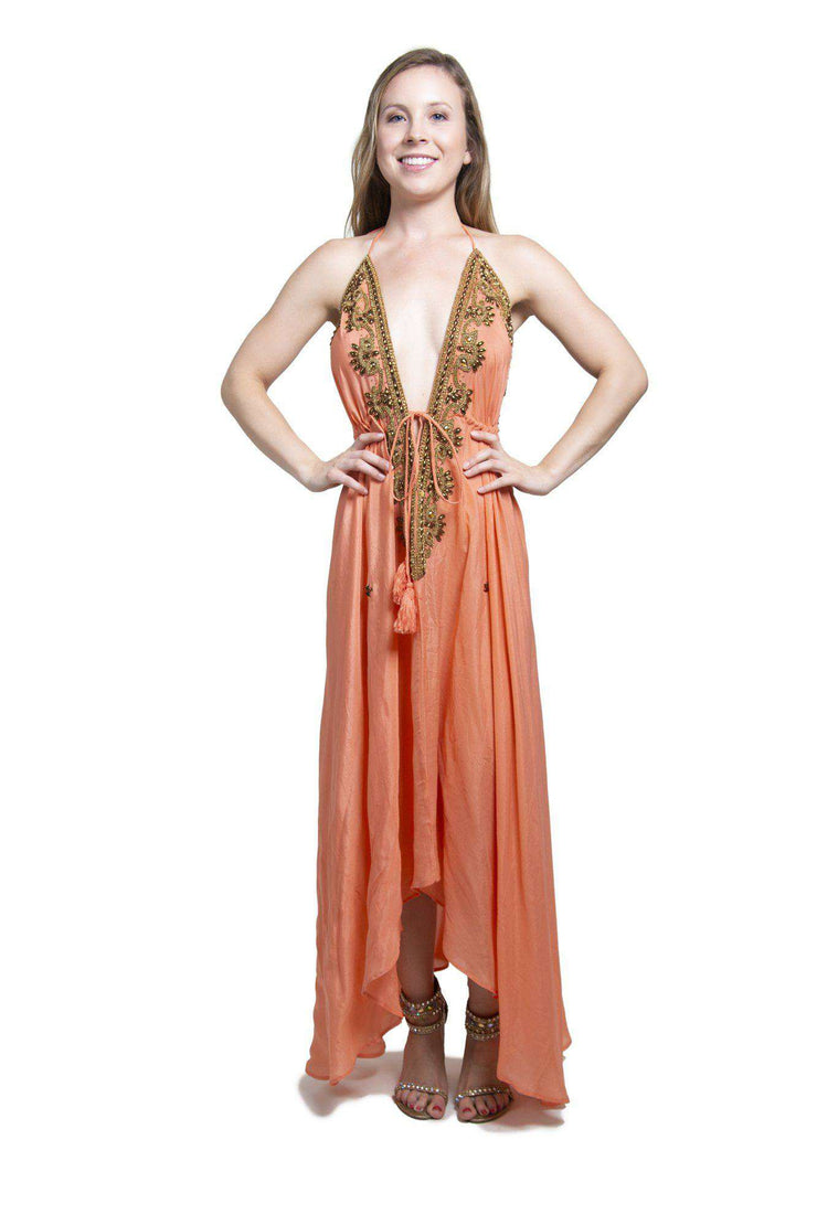Indian Peach Dress