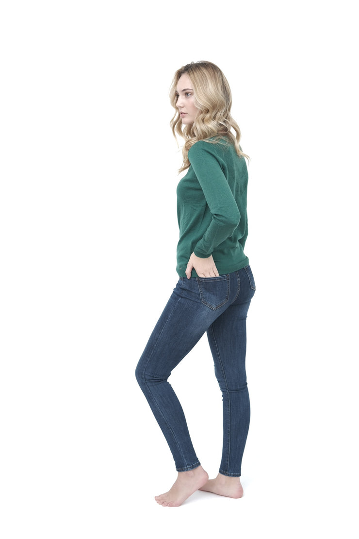 Green Woolen Sweater