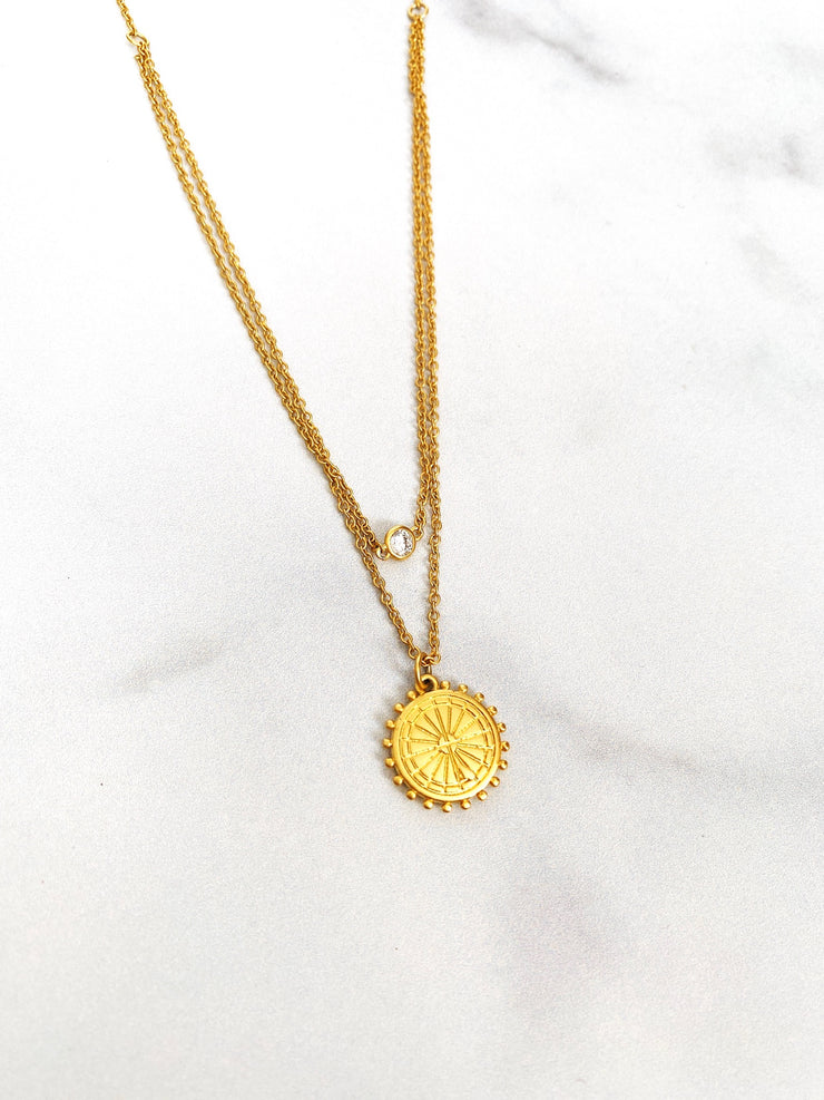 Golden Layer Necklace