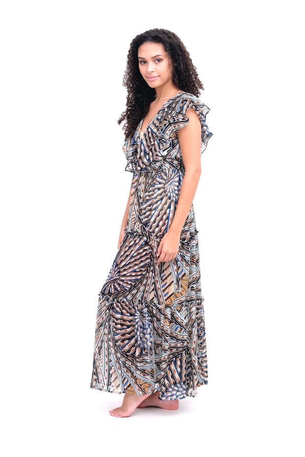 Taj Tiered Maxi Dress