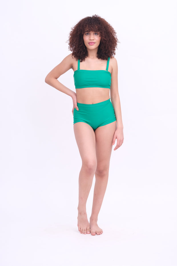 Emerald Bikini Top with Removable Straps