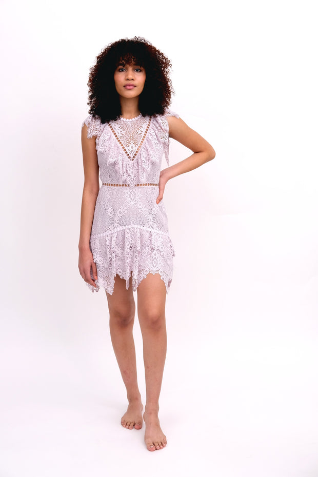 Flutter Lace Dress