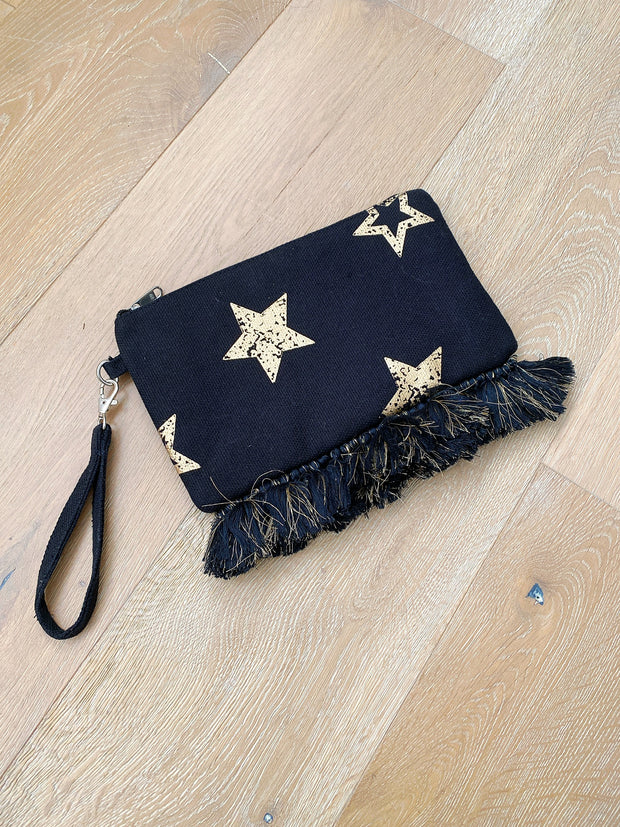 Star Clutch with Fringe