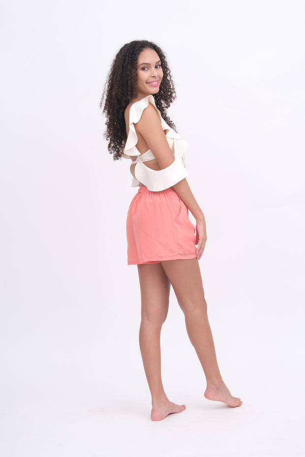 Peachy Shorts with Pockets