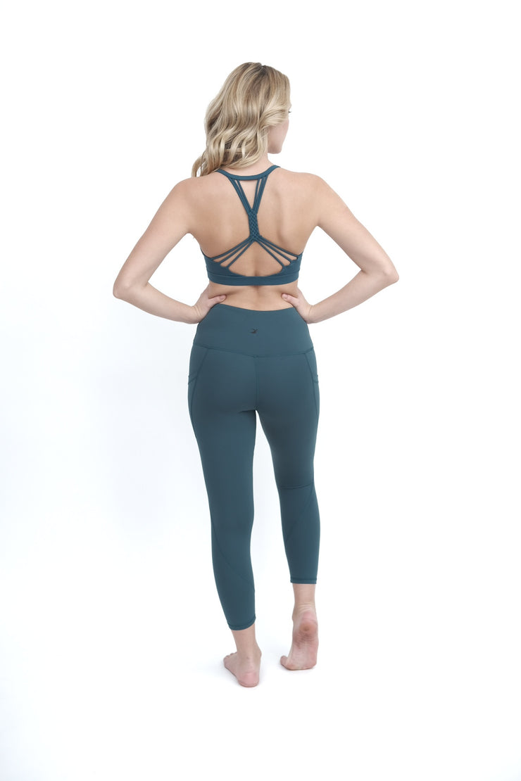 Dark Teal Sports Bra