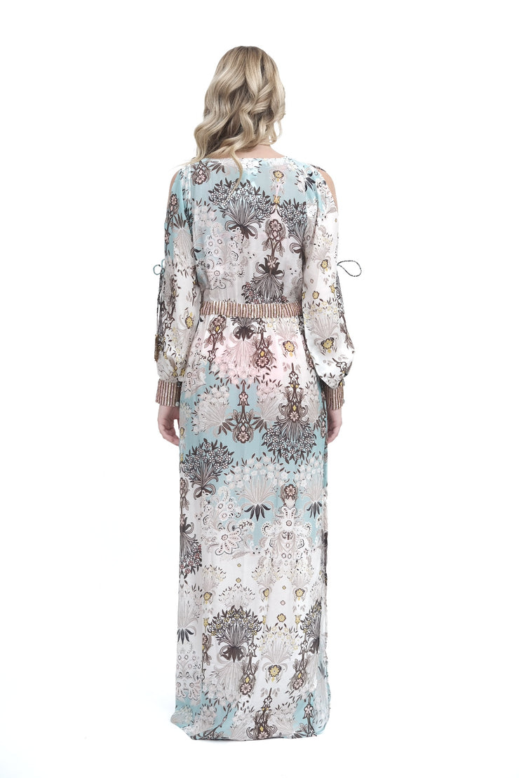 Taj Floral Maxi Dress Cover Up