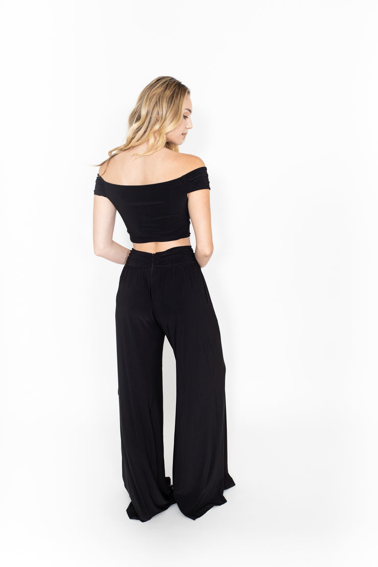 Black Sash Pants