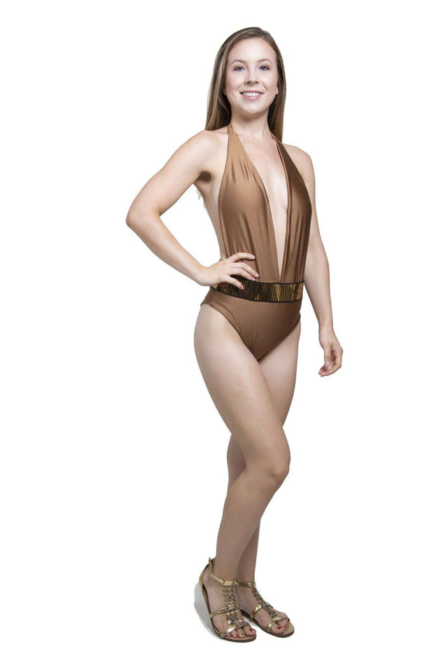 Bronze Swimsuit