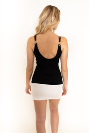 Halter Tank Top Black