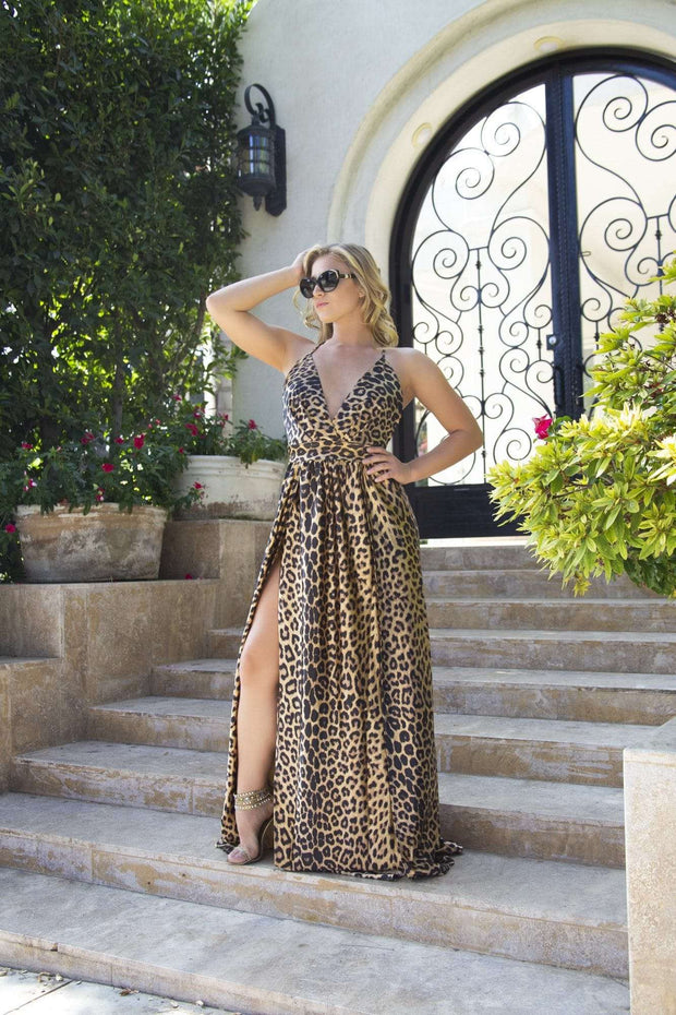 Symphony Leopard Print Dress