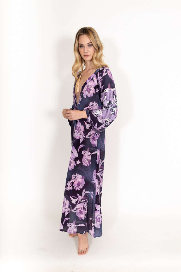 Taj Purple Coverup