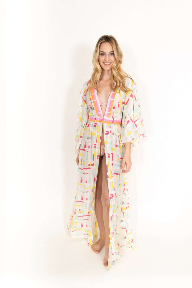 Taj Colorful Coverup