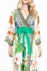 Shahida Parides Green Dress