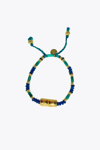 Blue and Green Sizigia Bracelet