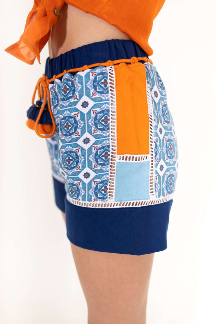 Mexico Tile Shorts