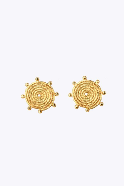Voragine Spiral Sun Earrings