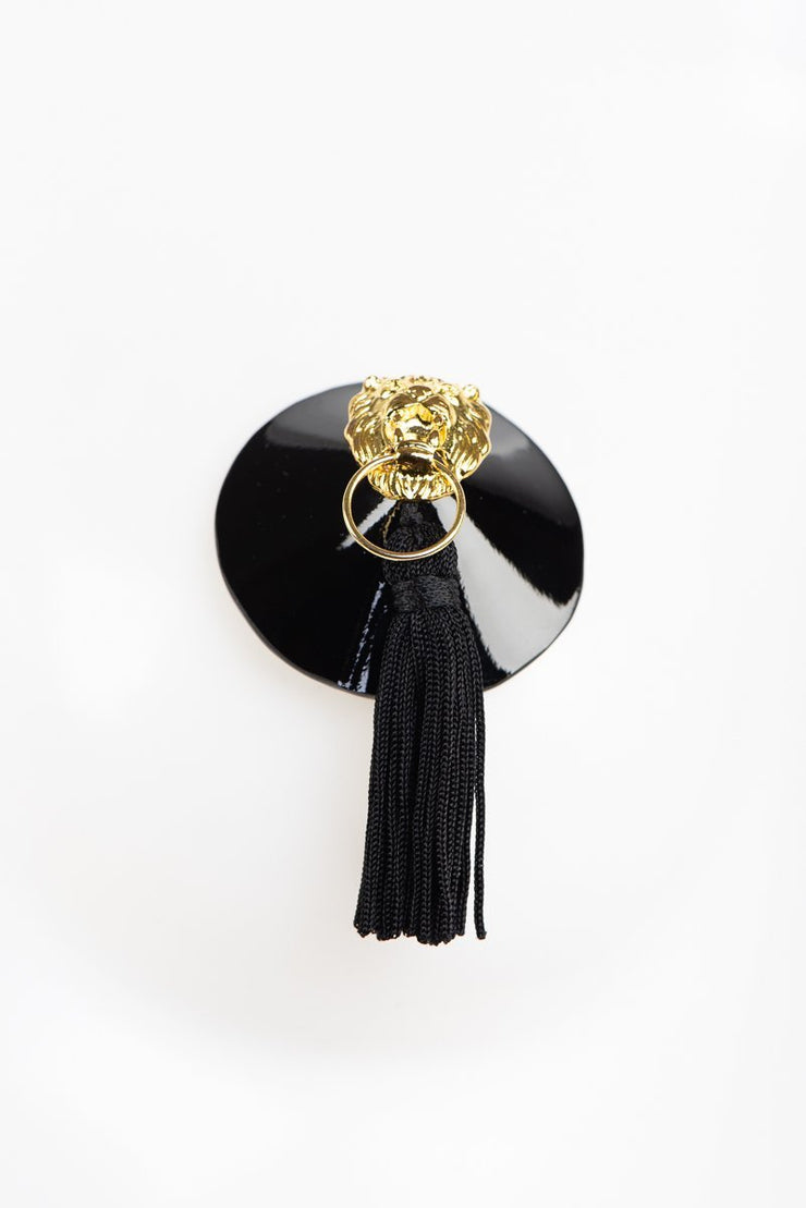 Lion Leather Tassel Pasties