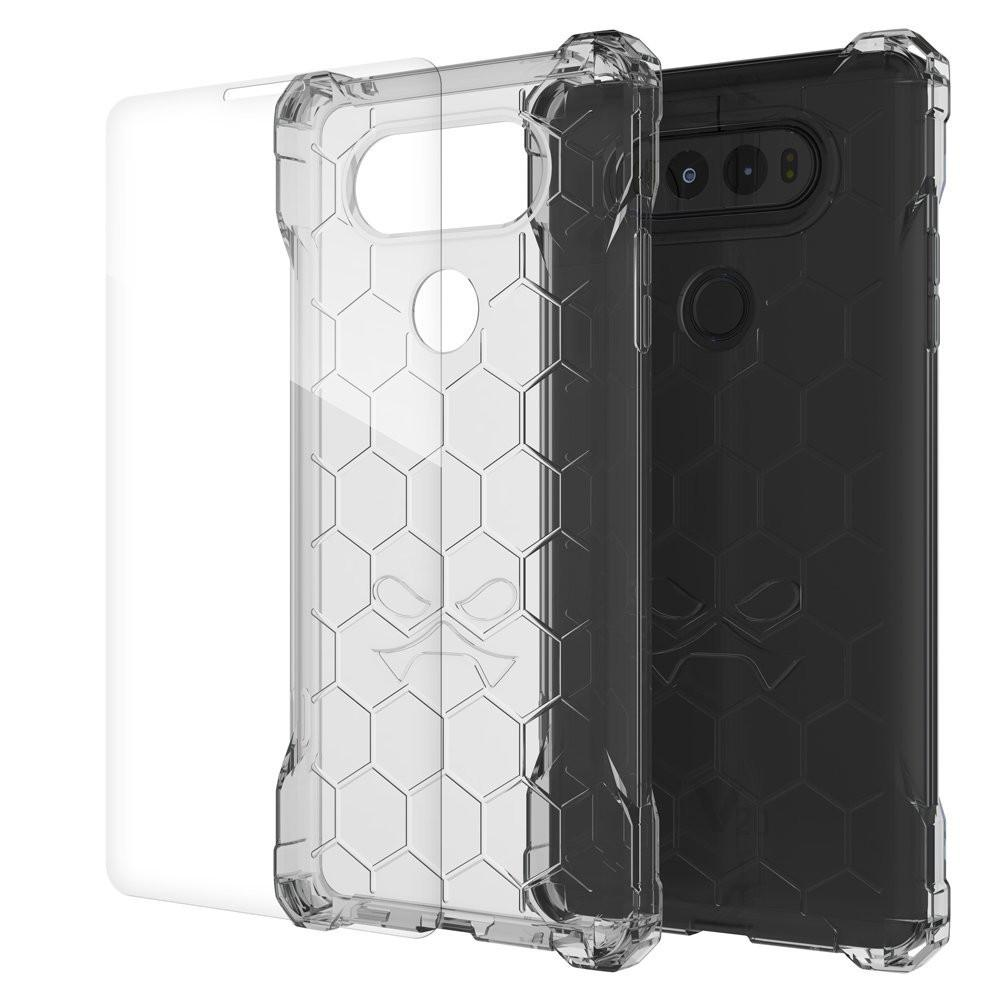 LG v20 Case, Ghostek® Covert Clear, Premium Impact Protective Armor | Lifetime Warranty Exchange