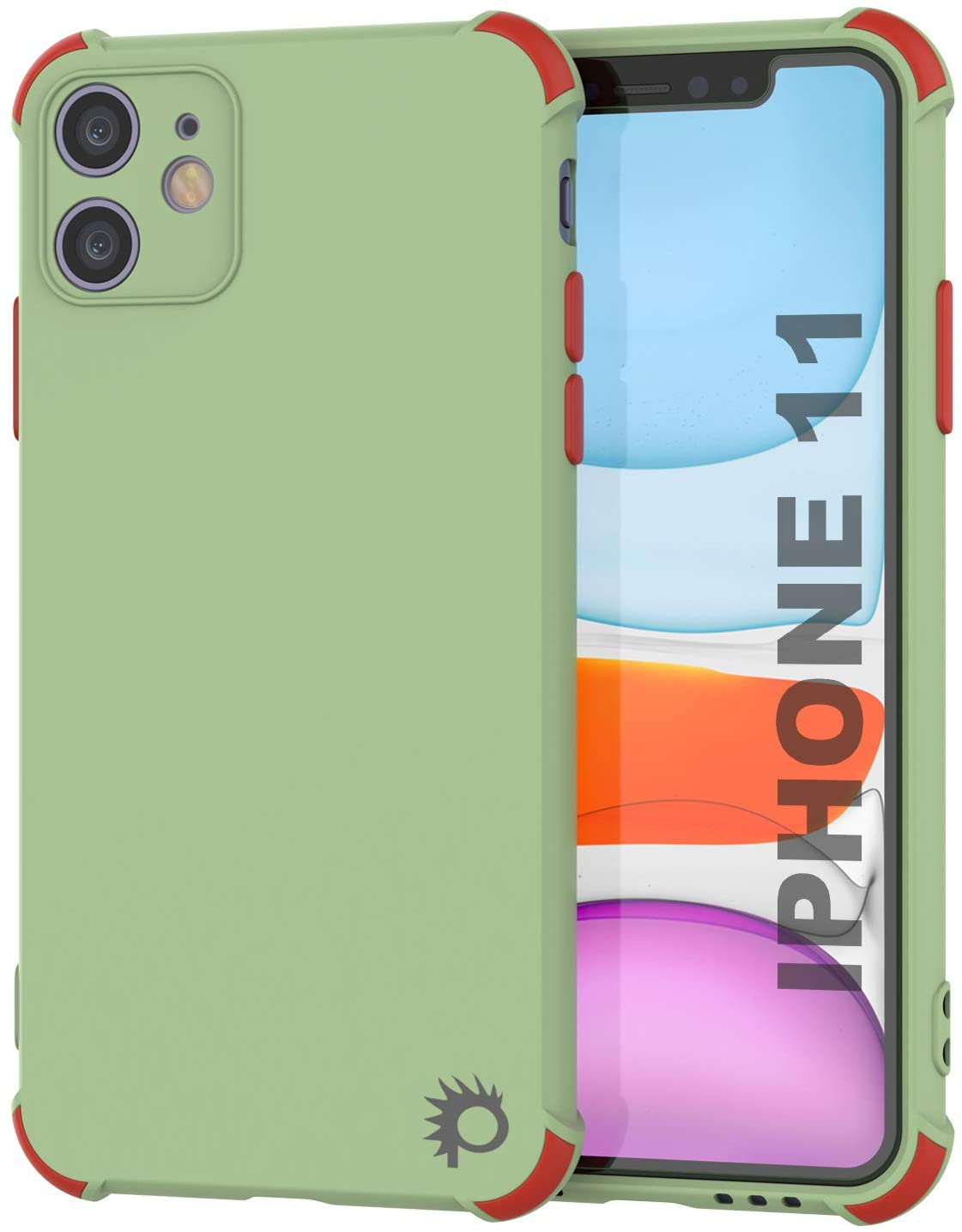 Punkcase Protective & Lightweight TPU Case [Sunshine Series] for iPhone 11 [Light Green]