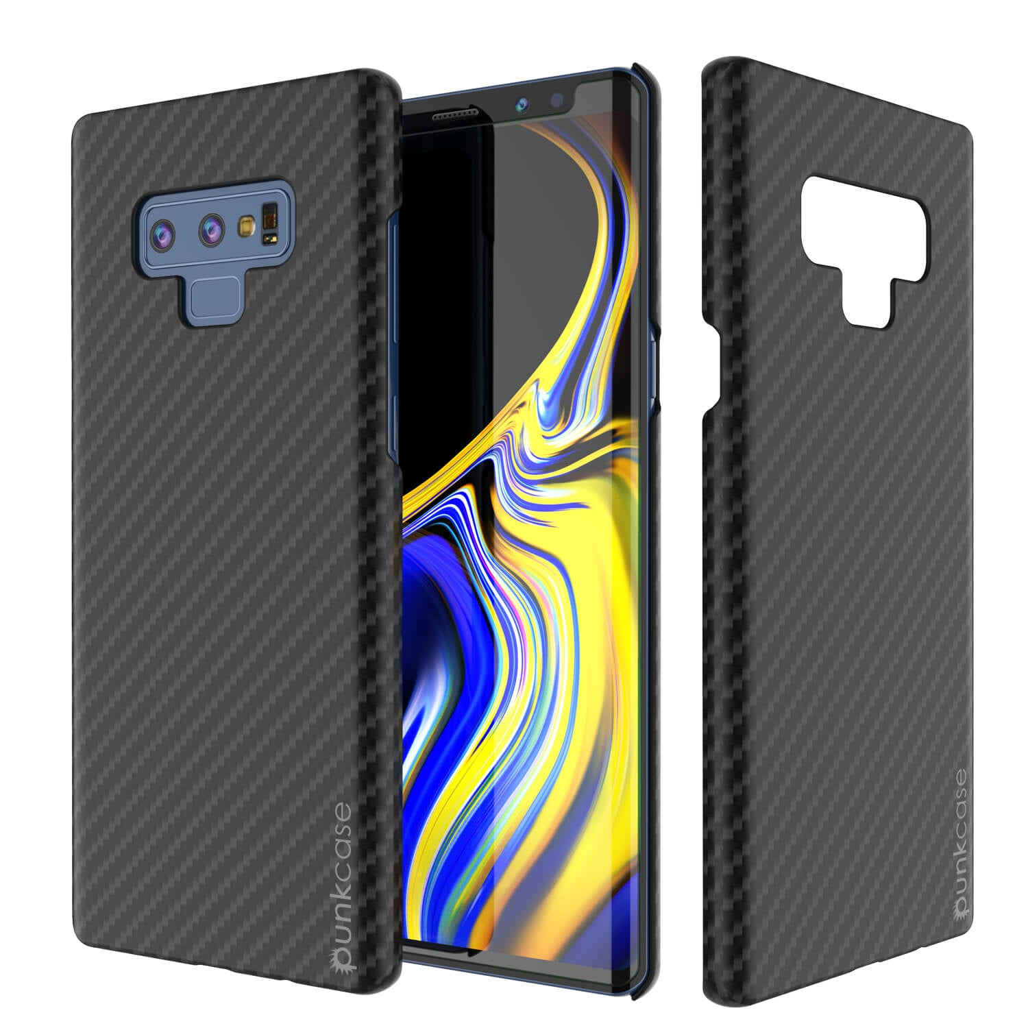 Galaxy Note 9 Case, Punkcase CarbonShield, Heavy Duty & Ultra Thin Cover