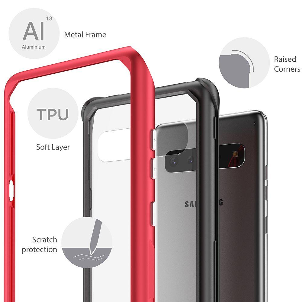 Atomic Slim 2 for Galaxy S10 5G - Military Grade Aluminum Case [Pink]