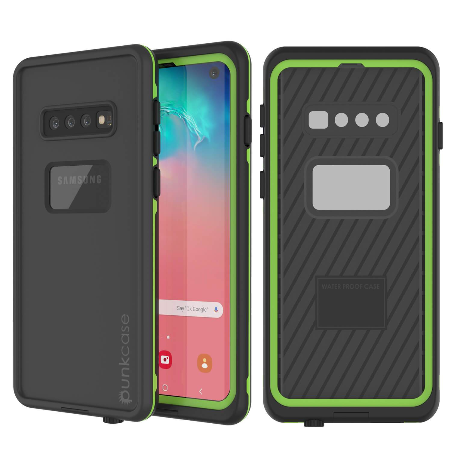 Punkcase S10 Waterproof Case [Aqua Series] Armor Cover [Black]