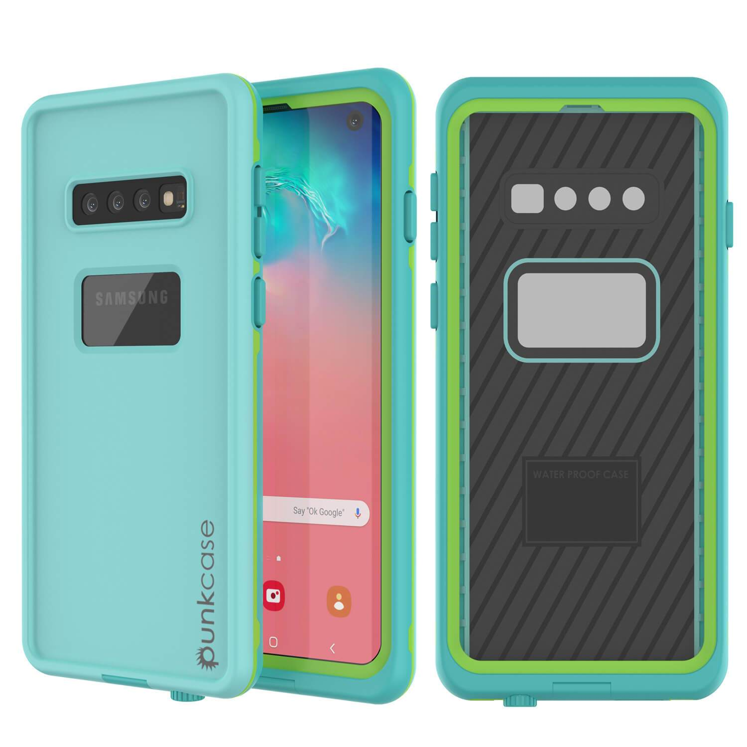 Punkcase S10 Waterproof Case [Aqua Series] Armor Cover [Teal]