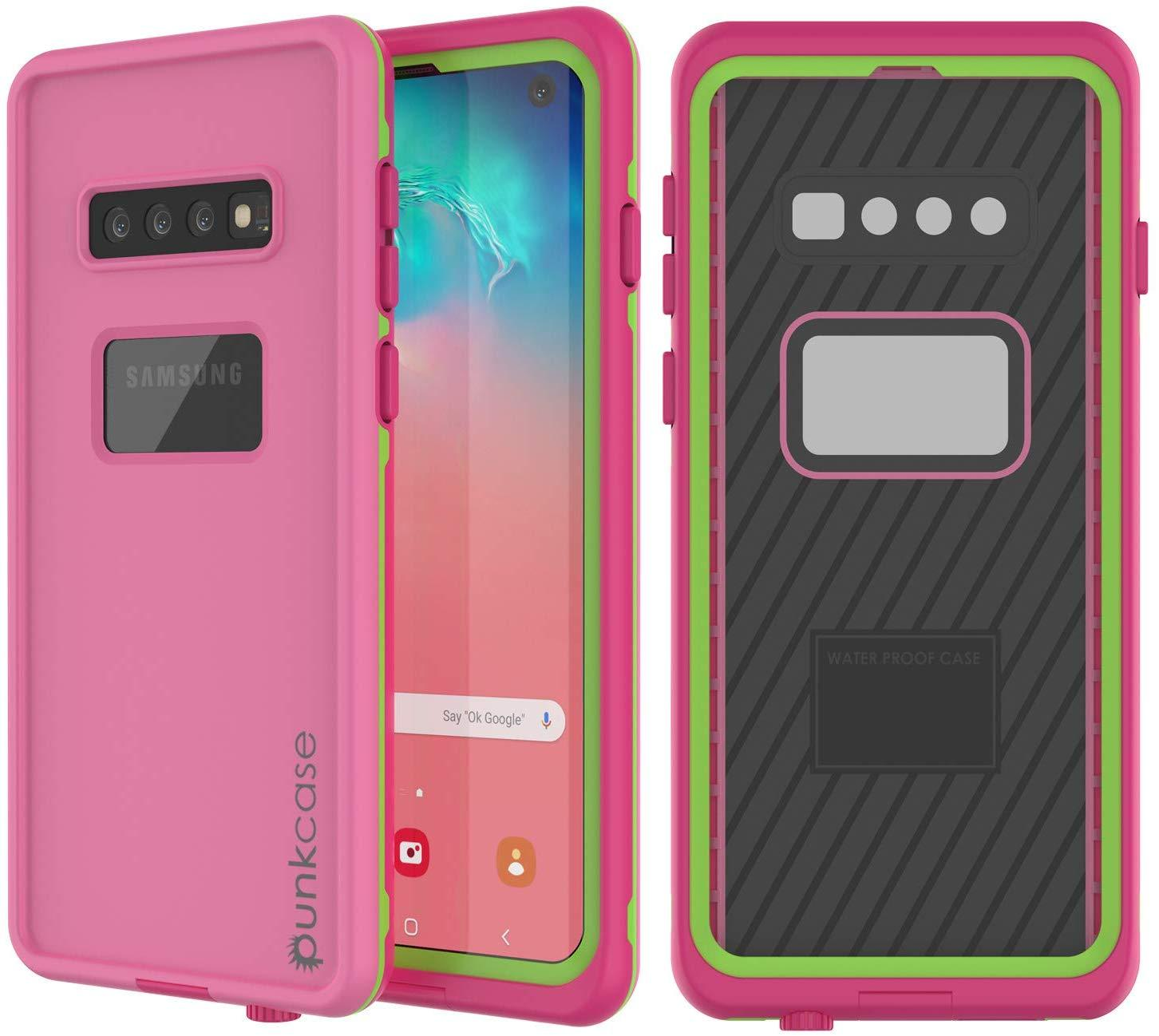 Punkcase S10 Waterproof Case [Aqua Series] Armor Cover [Pink]