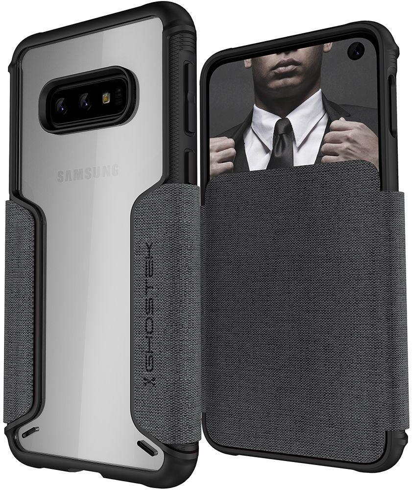 Galaxy S10e Wallet Case | Exec 3 Series [Grey]