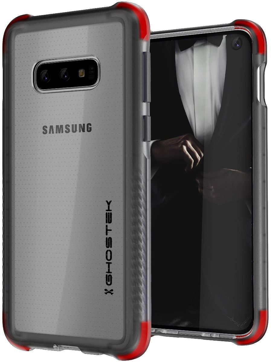 Galaxy S10e Clear-Back Protective Case | Covert 3 Series [Black]