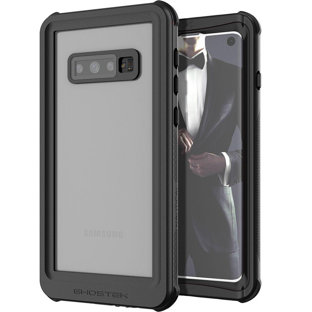 Galaxy S10 Rugged Waterproof Case | Nautical 2 Series [Black]