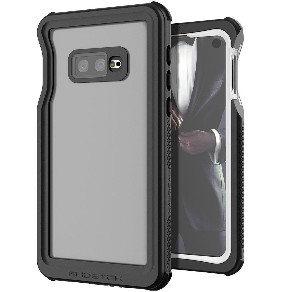 Galaxy S10e Rugged Waterproof Case | Nautical 2 Series [White]