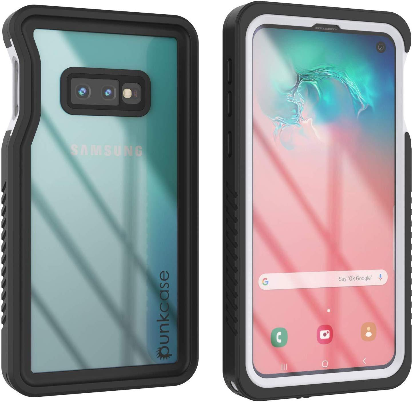 Galaxy S10e Water/Shock/Snow/dirt proof Punkcase Slim Case [White]