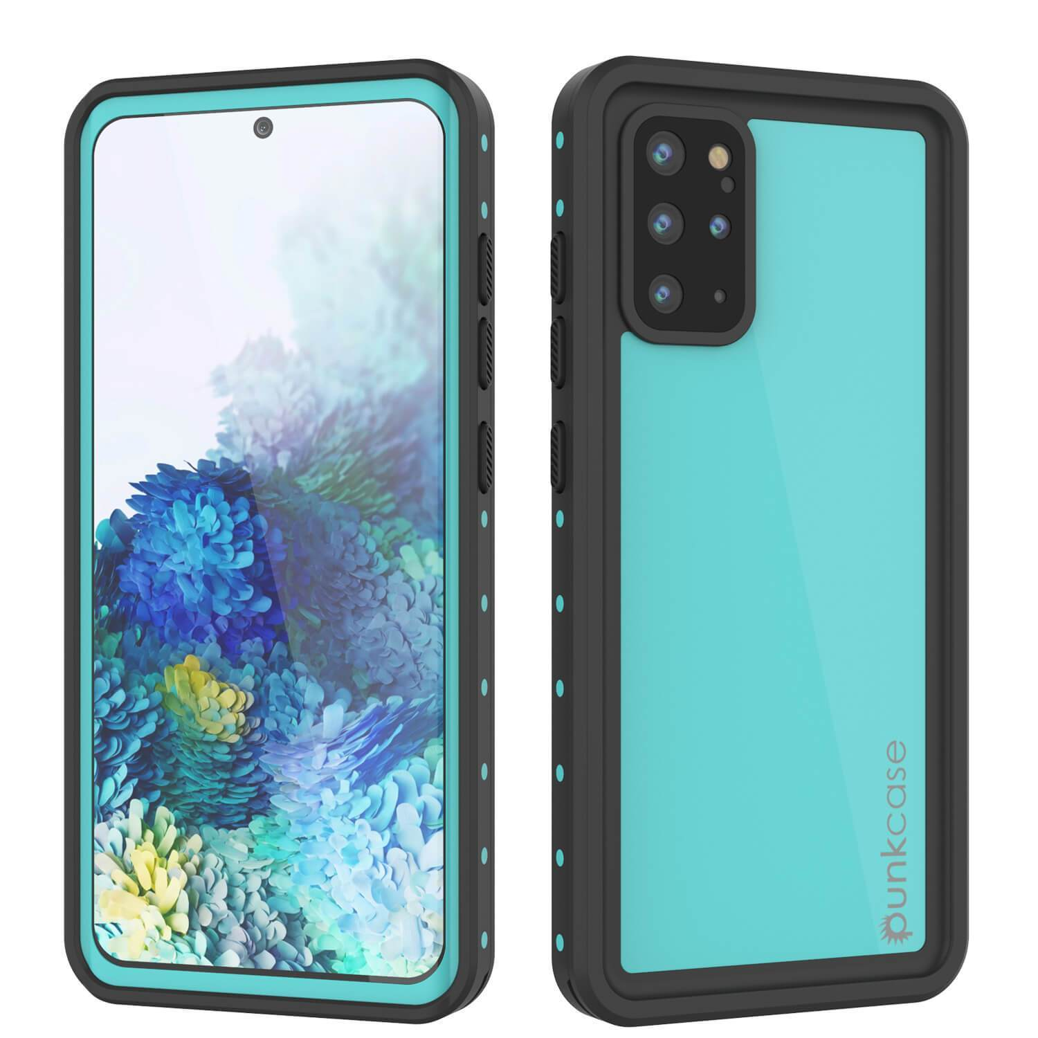 Galaxy S20+ Plus Waterproof Case PunkCase StudStar Teal Thin 6.6ft Underwater IP68 Shock/Snow Proof