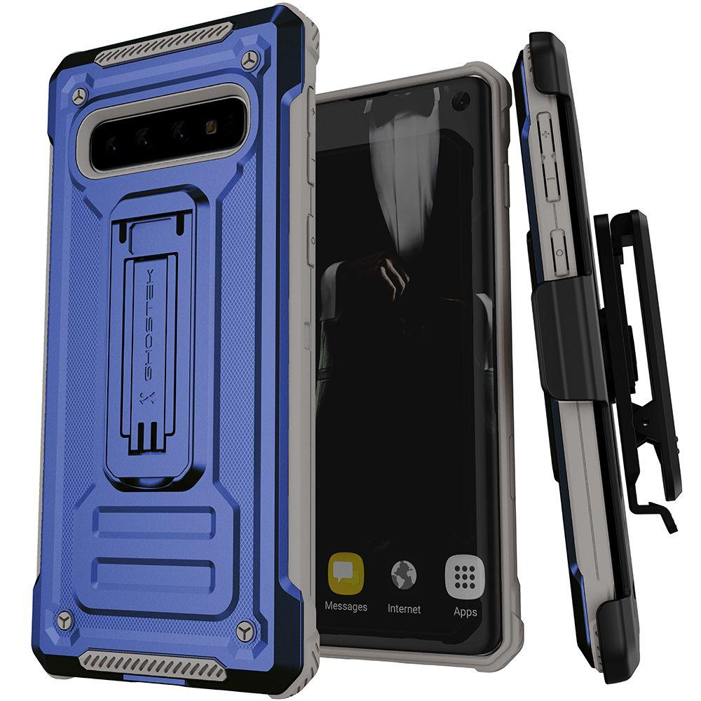 Ghostek IRON ARMOR2 for Galaxy S10 [Blue]