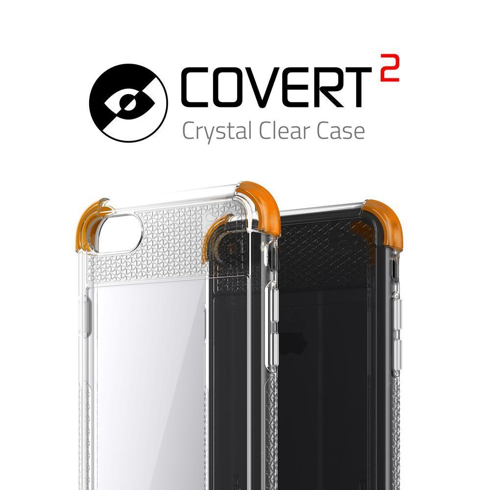 iPhone 7 Case, Ghostek® Covert 2 Series Military Drop Tested | Orange