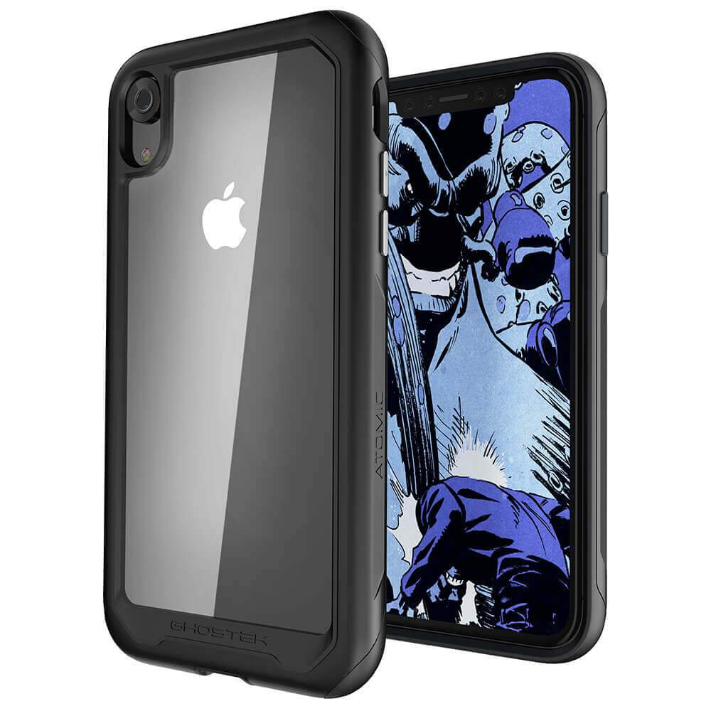 iPhone Xr Case, Ghostek Atomic Slim 2 Series  for iPhone Xr Rugged Heavy Duty Case|BLACK