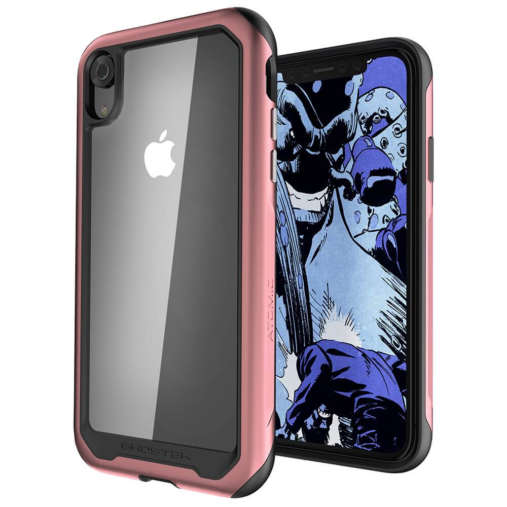 iPhone Xr Case, Ghostek Atomic Slim 2 Series  for iPhone Xr Rugged Heavy Duty Case|PINK