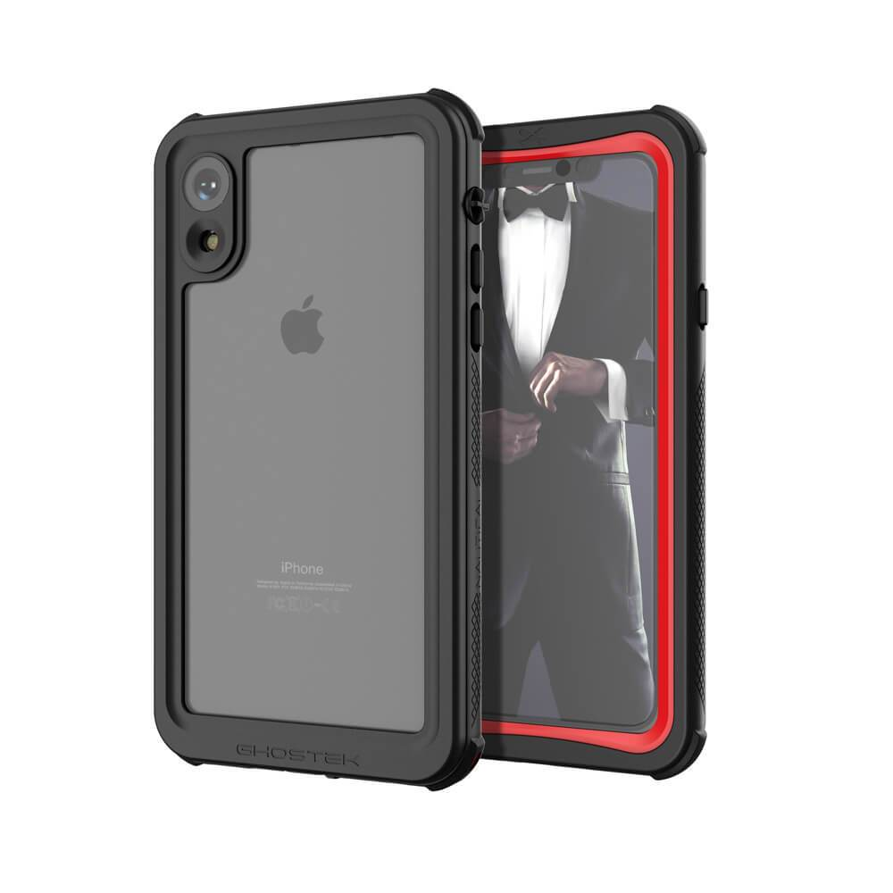 iPhone Xr  Case ,Ghostek Nautical Series  for iPhone Xr Rugged Heavy Duty Case |  RED