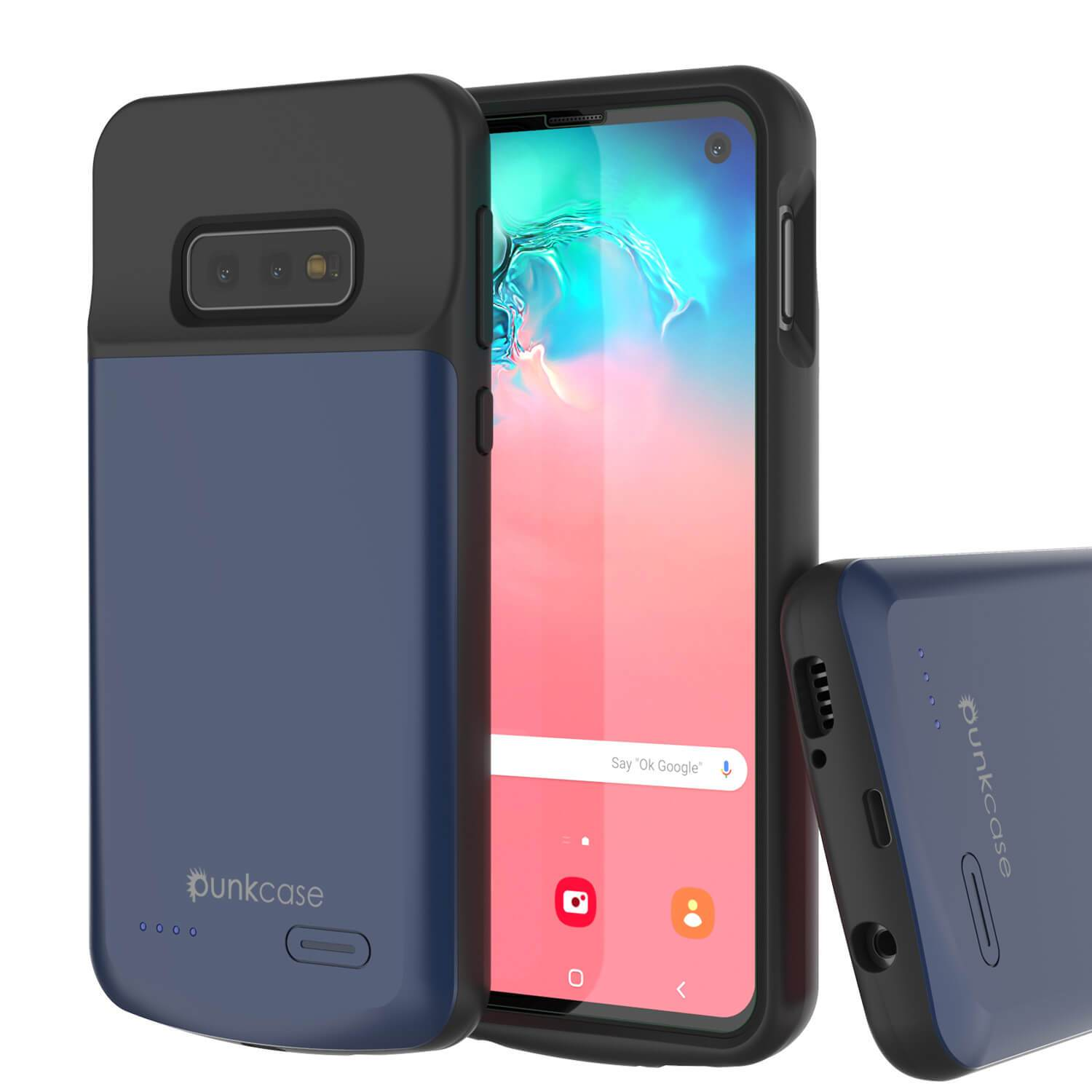 PunkJuice S10e Battery Case Reg. Blue - Fast Charging Power Juice Bank with 4700mAh